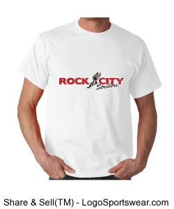 Rock City Striders White Tee Design Zoom